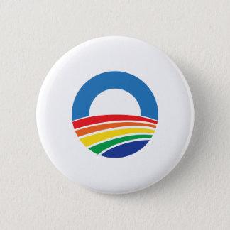 Badge Soutien d'Obama 2012 de mariage homosexuel