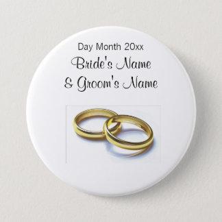 Badge Souvenirs de mariage, cadeaux, dons pour des