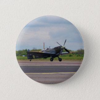 Badge Spitfire sur la piste