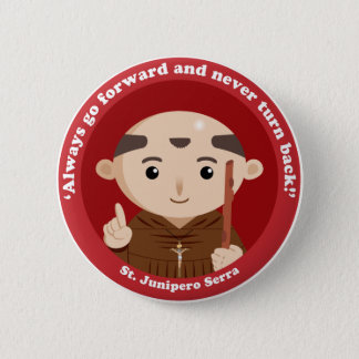 Badge St Junipero Serra