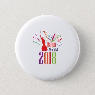 Badge Statue de célébration de 2018 bonnes années de la