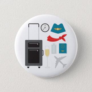Badge Steward (hôtesse de l'air)