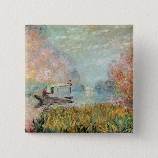 Badge Studio de bateau de Claude Monet   sur la Seine