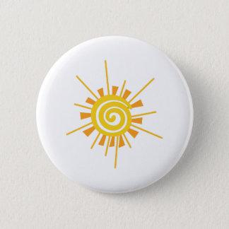 Badge Sun abstrait