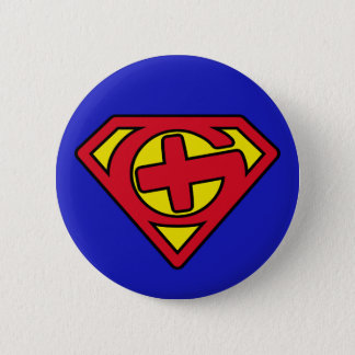 Badge Supercacher bouton