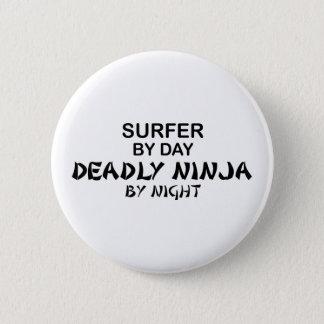 Badge Surfer Ninja mortel par nuit