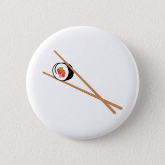 Badge Sushi et baguettes