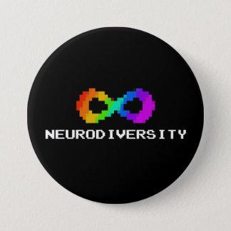 Badge symbole à 8 bits de Neurodiversity
