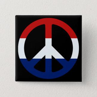 Badge Symbole de paix patriotique