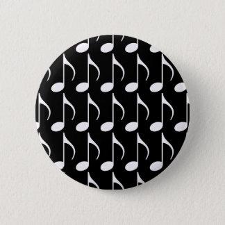 Badge symbole graphique de note musicale