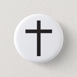 Badge Symbole religieux de croix latine
