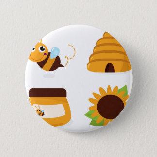 Badge T-shirts avec la petites abeille et substance