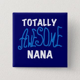 Badge T-shirts et cadeaux bleus totalement