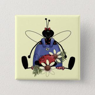 Badge T-shirts et cadeaux de jardin de coccinelle