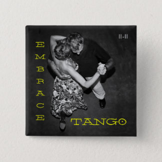 Badge Tango d'étreinte