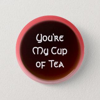 Badge Tasse de thé