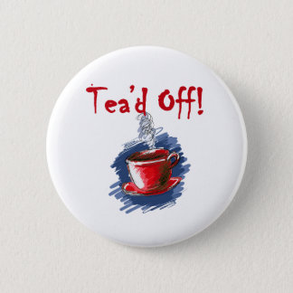 Badge Tea'd, thé de jour d'impôts