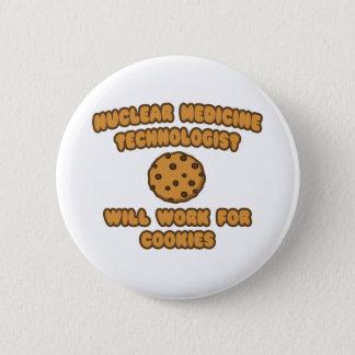 Badge Technologie nucléaire de Med. Travaillera pour des