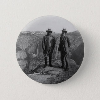Badge Teddy Roosevelt et John Muir dans Yosemite