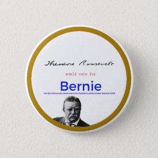 Badge Teddy Roosevelt pour des ponceuses de Bernie