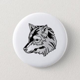 Badge Tête de loup
