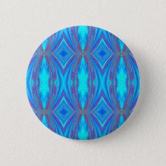 Badge Texture bleue