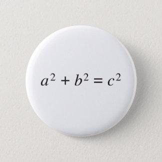 Badge théorème pythagorien
