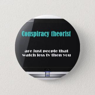 Badge Théoricien de conspiration contre les médias