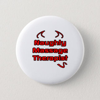 Badge Thérapeute vilain de massage