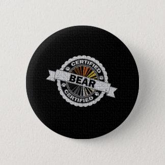 Badge Timbre certifié d'ours