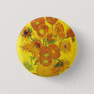 Badge Tournesols par Vincent van Gogh