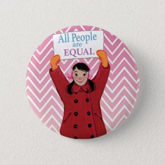 Badge TOUTES LES personnes sont égales