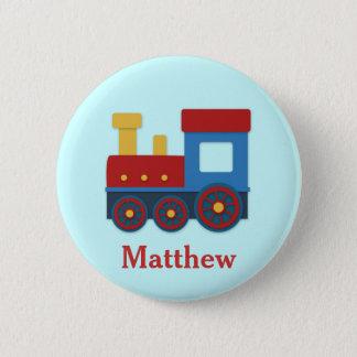 Badge Train mignon et coloré pour des garçons