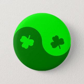 Badge Trèfle Yin Yang