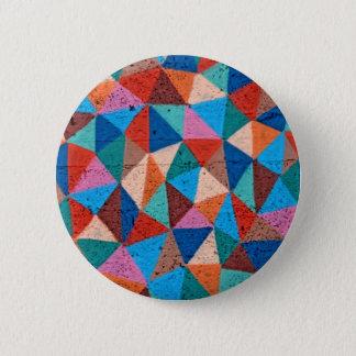 Badge Triangles pulvérisées colorées de graffiti