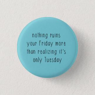 Badge trouille de vendredi