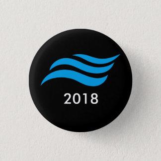 Badge Tsunami bleu
