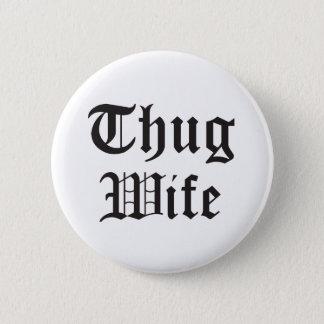 Badge Typographie de culture pop d'épouse de voyou
