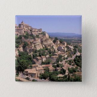 Badge UE, France, Provence, Luberon, Gordes