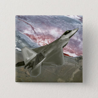 Badge Un F/A-22 Raptor pilote une mission de formation