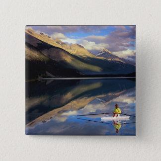 Badge Un rameur sur le lac Banff dans M. du Canada)