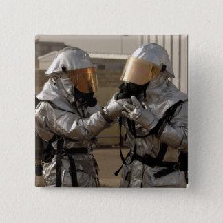 Badge Un sapeur-pompier irakien