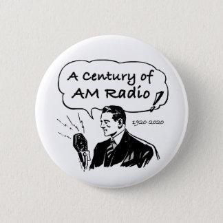 Badge Un siècle de radio d'AM