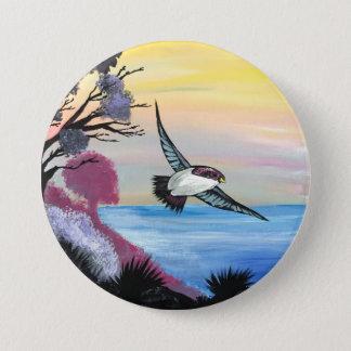 Badge Une vue d'oiseaux