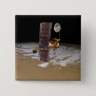 Badge Vaisseau spatial d'odyssée de Mars