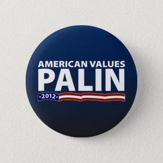Badge Valeurs d'Américaine de Sarah Palin