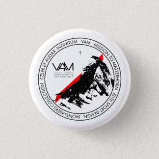 Badge VAM : Bouton de Suisse de Matterhorn Zermatt