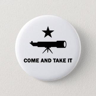 """Badge """"Venez le prendre"""" pour des scientifiques"""