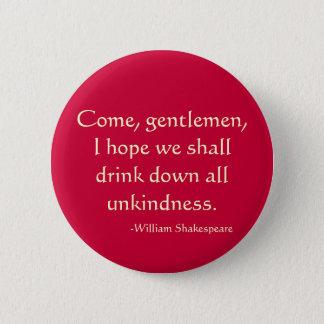 Badge Venez, messieurs
