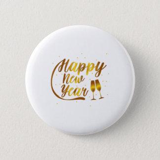 Badge Verre de Champagne de 2018 bonnes années